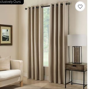 Bundle of two Paradise Darkening Grommet Curtains